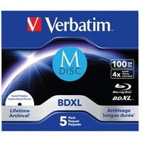 Płyty M-DISC BD-R 4x 100GB 5P JC Printable 43834